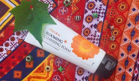 sua rua mat cuc xu xi all natural blooming cleansing foam e1499429879256