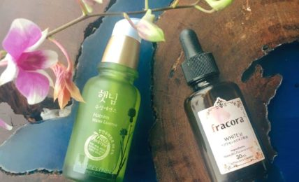 fracora white placenta vs nature friend hatnim essence phuc hoi da