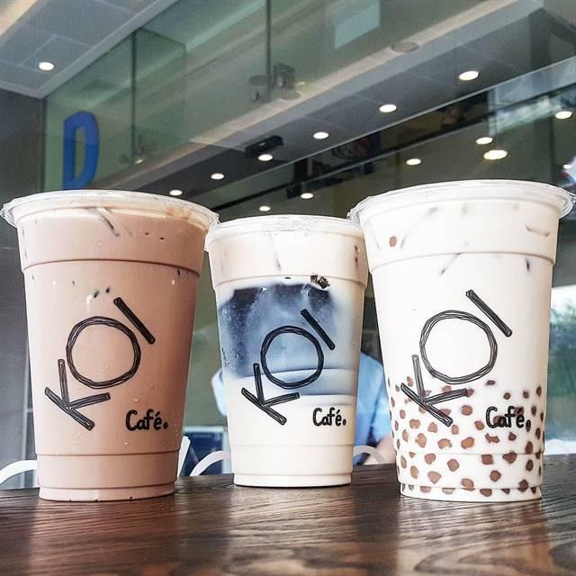 Trà sữa Koi có nguồn gốc từ Singapore