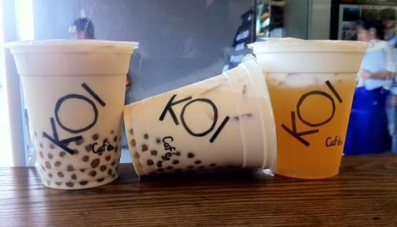 Trà sữa Koi không có chất độc hại