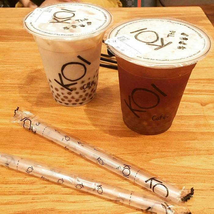 Nhiều khách hàng cảm nhận về hương vị của trà sữa rất ngon