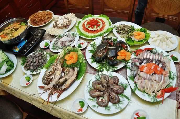 cách nấu lẩu hải sản