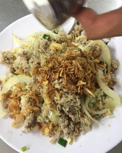 Cơm rang cua Bà Thảo - món ăn thu hút thực khách Hà thành