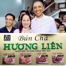 Bún chả Hương Liên nổi tiếng Hà Nội