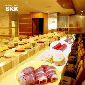 Thỏa sức ăn ngon tại lẩu băng chuyền BKK