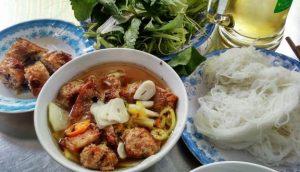 Món bún chả nổi tiếng của Hà Nội