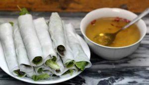 Món phở cuốn tại Thanh Hằng