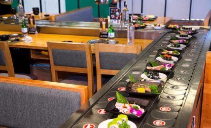 Lẩu băng chuyền đậm đà gia vị Nhật tại Osaka BBQ