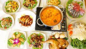 Bữa ăn thịnh soạn tại Thai Deli