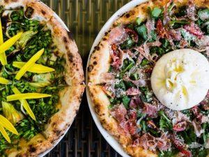 Bánh pizza tại Pizza 4P's có hương vị đặc trưng không lẫn vào đâu được