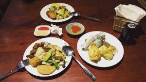 Buffet Chay Hương Thiền với phong phú các món ăn đặc sắc