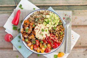 Tất cả các món ăn đều đầy đủ chất dinh dưỡng tốt cho cơ thể