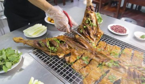 Huynh Đệ Quán sở hữu nhiều món dê ăn ngon.