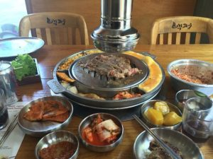 Baek Jeong – Thịt nướng Hàn Quốc