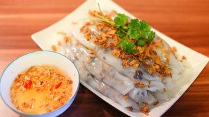 Bánh cuốn Bảo Khánh được rất nhiều thực khách yêu thích