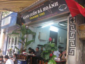 Bà Hoành thương hiệu bánh cuốn nổi tiếng tại Hà Nội