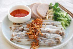 Bánh cuốn Thanh Trì Đại Đồng hấp dẫn bởi nước chấm pha cực ngon