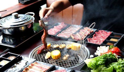 PP's BBQ & Hotpot có đến 8 loại sốt khác nhau