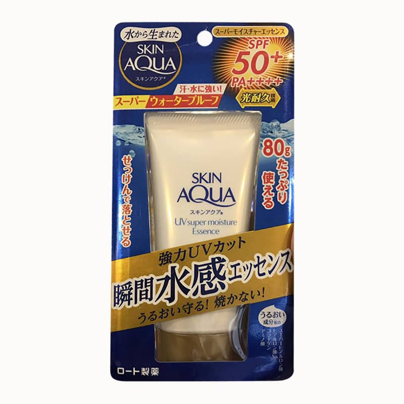 Kem chống nắng Rohto Skin Aqua UV Super Moisture Essence