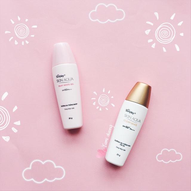 Sunplay Skin Aqua Silky White Gel SPF 50 PA+++
