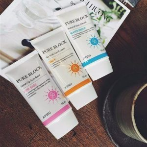 A' Pieu Pure Block Natural Sun Cream Daily/ Water Proof