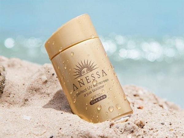 Kem ANESSA Perfect UV sunscreen Aqua booster Mild SPF 30+ PA++++