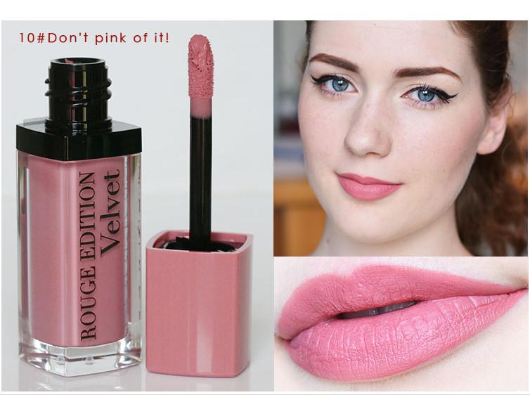 Bourjois Rouge Edition Velvet - Màu số 10 Don't Pink Of It