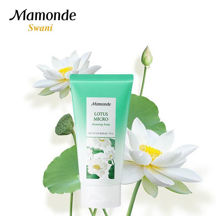 Sữa rửa mặt đình đám của Hàn Quốc - Mamonde Lotus Micro Cleansing Foam