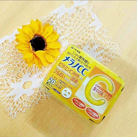 Thành phần chính của sản phẩm là Vitamin C rất có lợi cho da