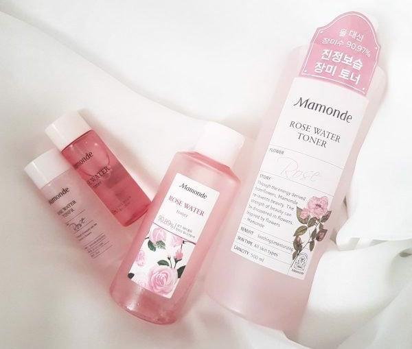 review mamonde rose water toner