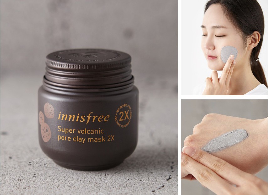 review mat na innisfree jeju volcanic pore clay mask
