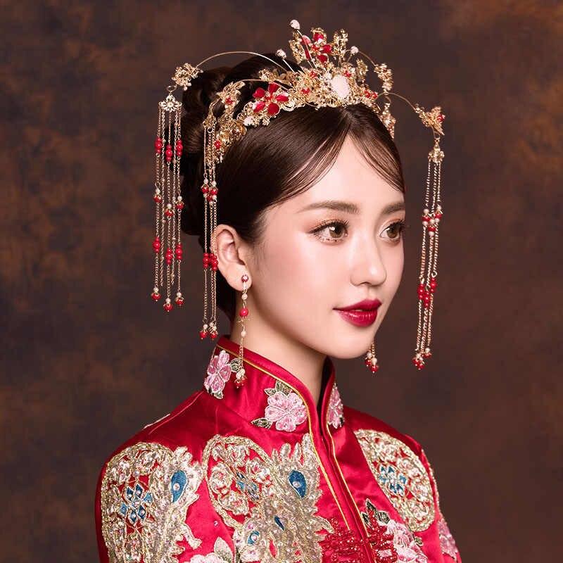 cô dâu kiểu Trung Hoa