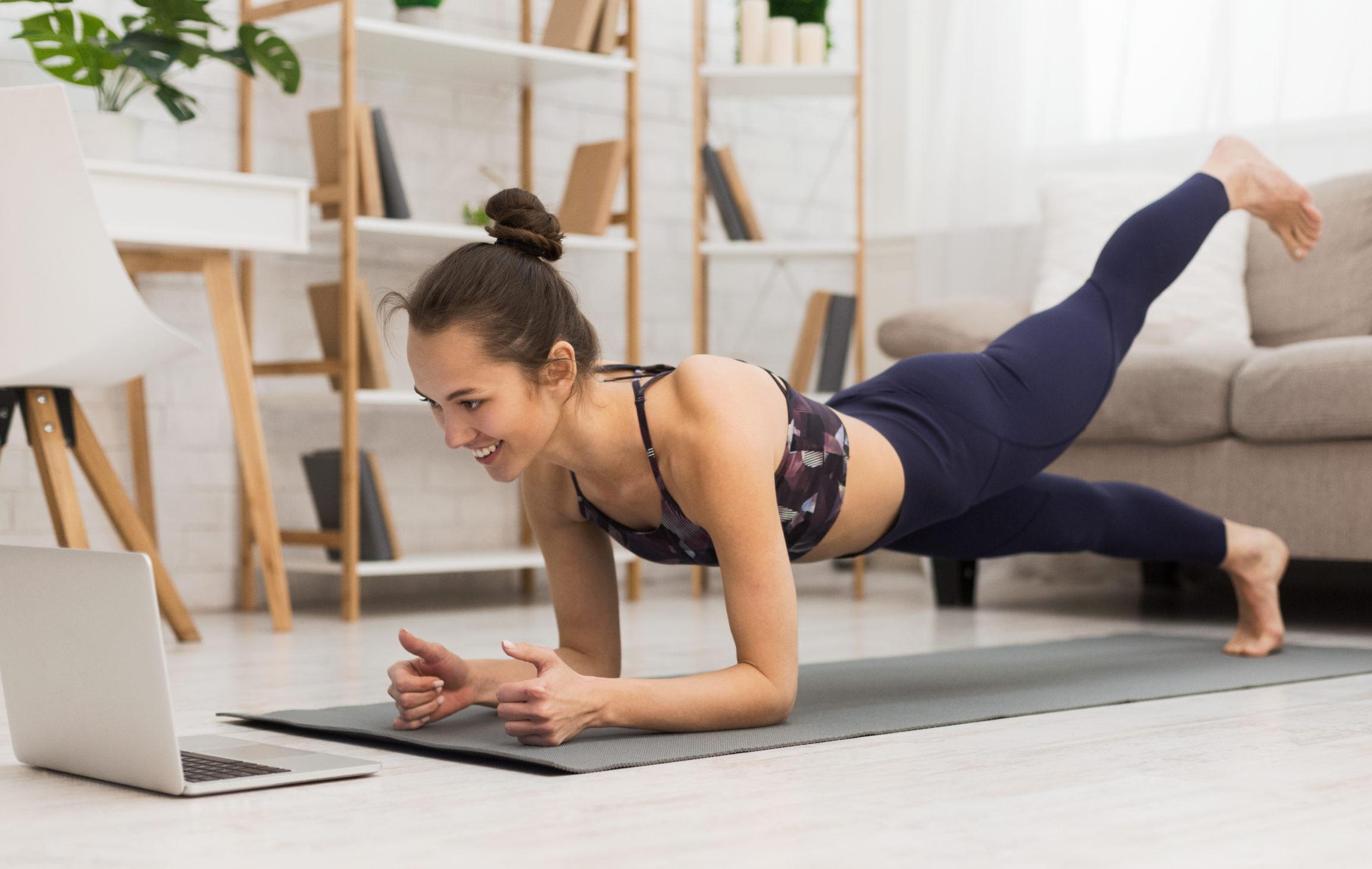 bài tập giảm cân tại nhà 1