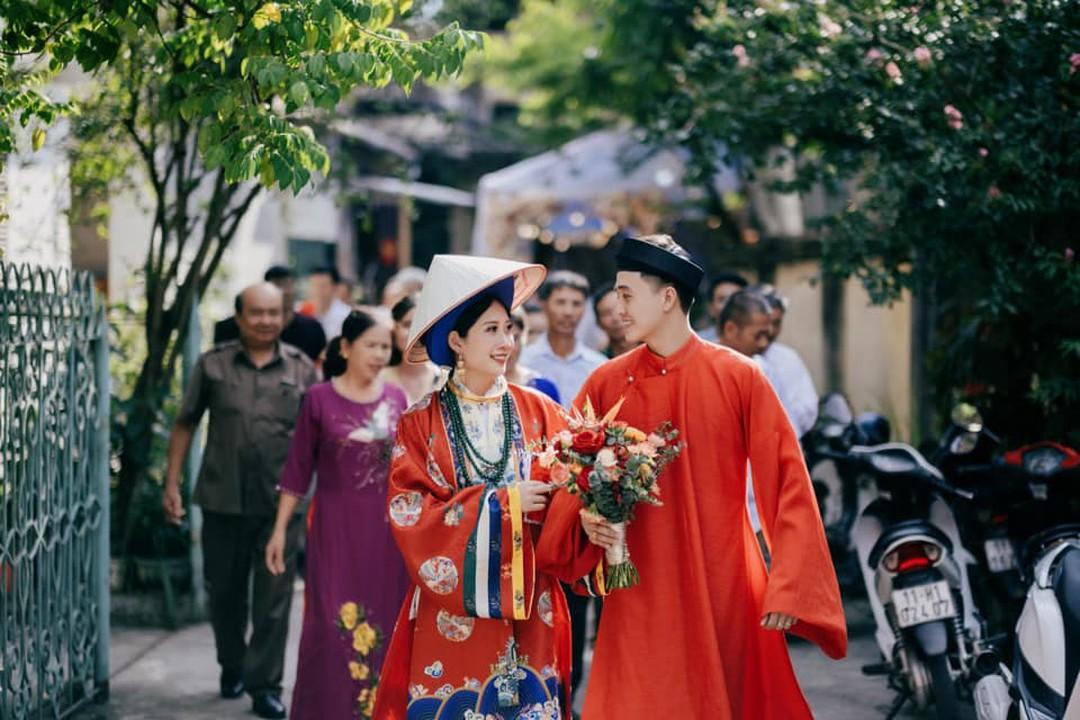 đám cưới cổ phục việt