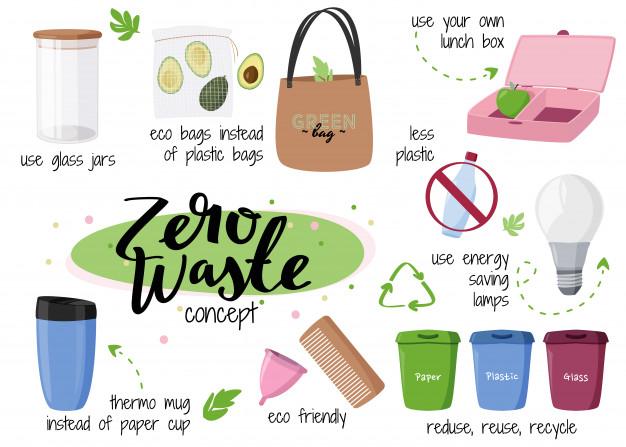 lối sống không rác thải zero waste 9