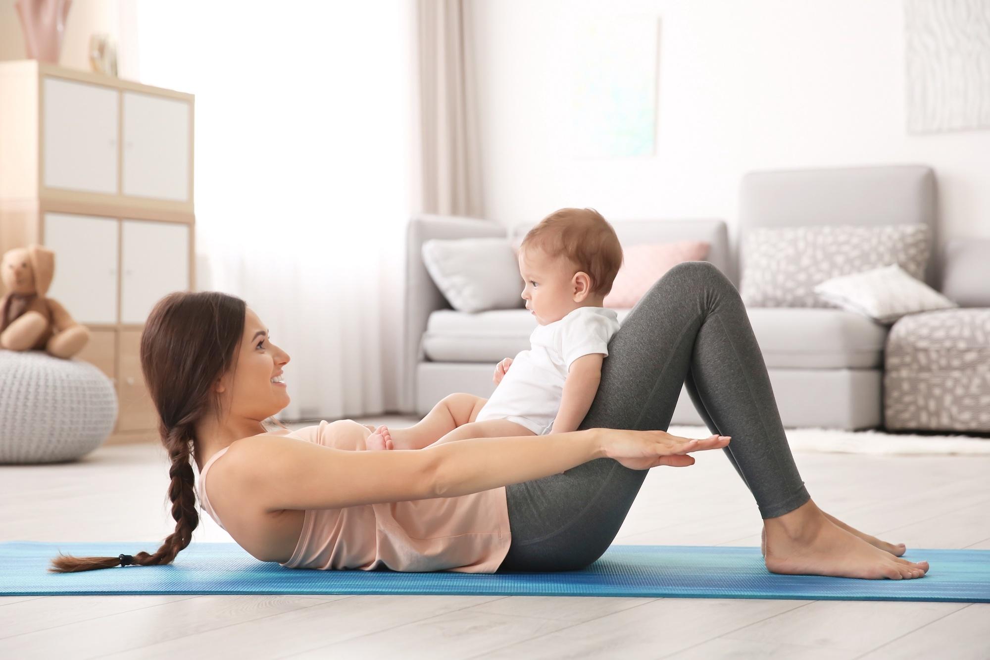 giảm cân sau sinh 6
