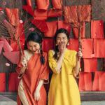 áo dài tết 1