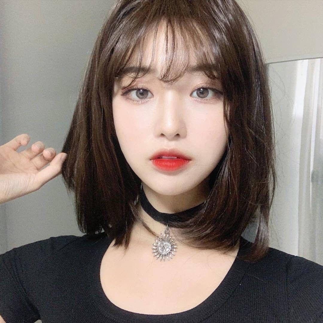 tóc ngắn uốn 1