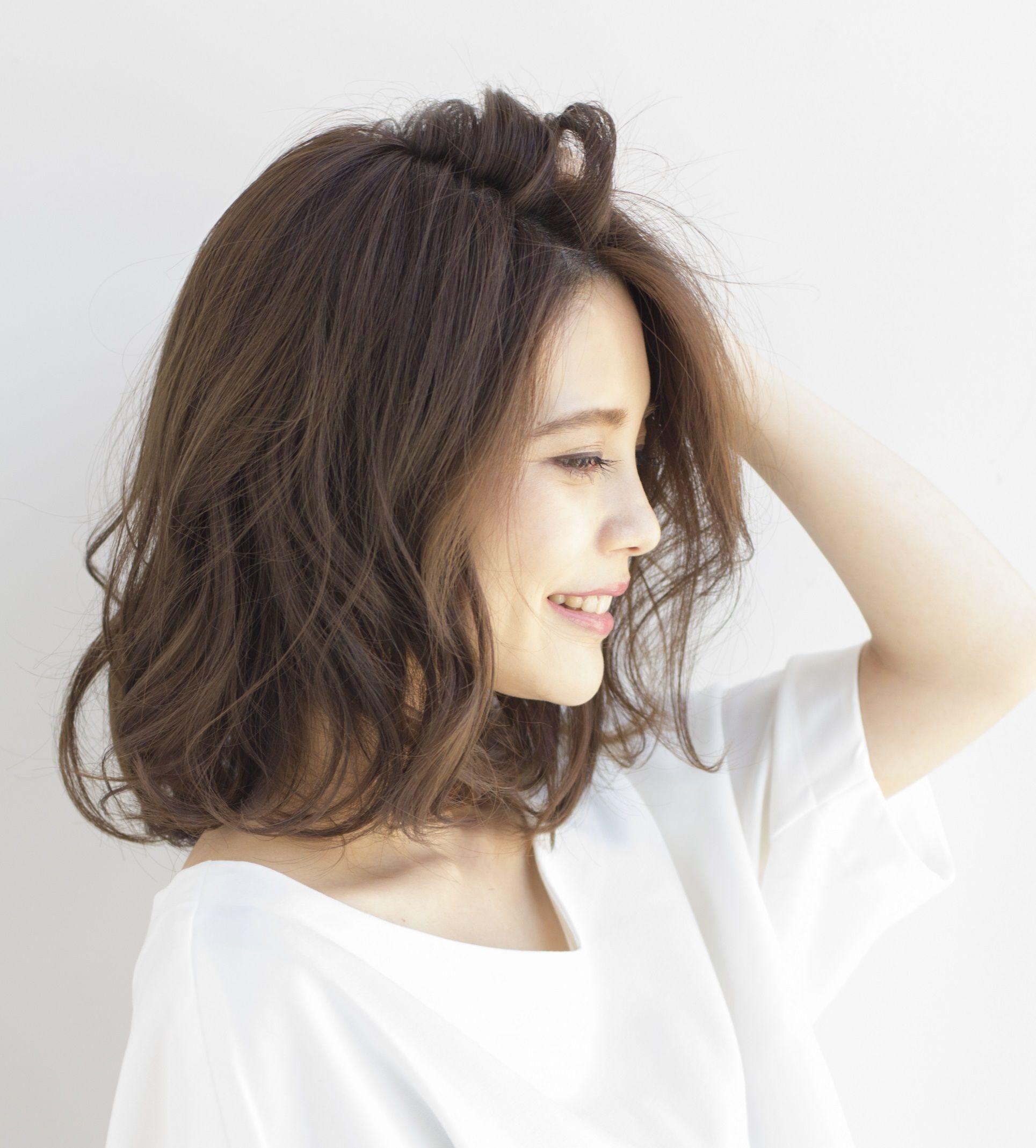 tóc ngắn uốn 9