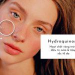 cách sử dụng hydroquinone làm trắng da